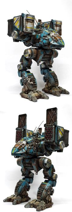 MechWarrior Online custom Catapult mech model