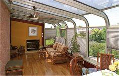 curved sunroom roof