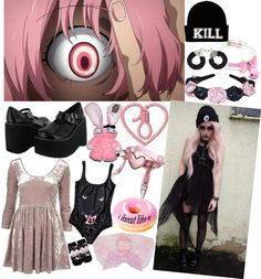 """""""I don't like u"""" by grotesque-lady ❤ liked on Polyvore"""