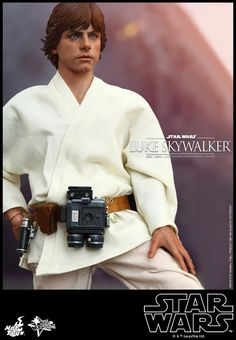 onesixthscalepictures: Hot Toys Star Wars LUKE SKYWALKER : Latest product news for 1/6 scale figures (12 inch collectibles).