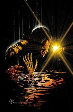 Sinestro #2 cover art by Dale Eaglesham