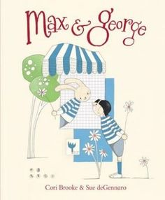 Max and George by Cori Brooke  - over coming fear - making new friends