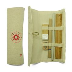 "custom #pencilcase with #ecofriendly #promotionalitems made for ""Vita di Galileo"" of Bertold Brecht"