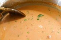 Sherried tomato soup