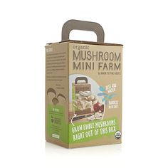 For a rewarding growing adventure, our organic mini mushroom farm produces a harvest of delicious oyster mushrooms in as little as 10 days. Just follow the easy steps listed on the side of the box for a bountiful harvest of organic mushrooms. Some light is needed but avoid direct sunlight.