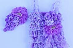 Lavender Romper Gift Set