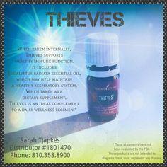 #thievesessentialoil #immunesupport #oilylife #adropadaywithsarah