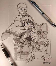 Otaku Anime, Anime Naruto, Naruto Und Hinata, Naruto Uzumaki Art, Wallpaper Naruto Shippuden, Naruto Cute, Manga Anime, Kakashi, Boruto