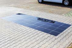 Platio unveils next-gen solar sidewalk that can charge electric vehicles
