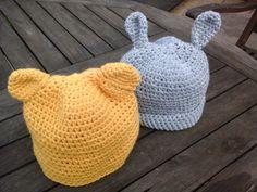 Bobbi and Belle (Newborn Baby Hats)