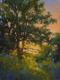 Warm Glow by Jacob Aguiar Pastel ~ 16 x 12