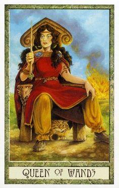 druidcraft tarot queen of wands - Pesquisa Google