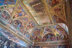 Bóveda de la Stanza de Constantino, Roma
