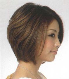 写真 Short Hair With Layers, Layered Hair, Bob Hairstyles, Woman Hairstyles, Style Me, Beauty Hacks, Short Hair Styles, Hair Cuts, Sexy