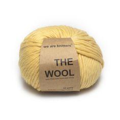 #New #wool #yarn: #honey #yellow #weareknitters