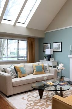 decorating brown furniture on blue and brown living room3 blue and