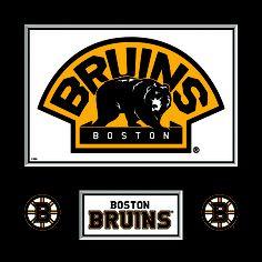 Boston Bruins Logo plaque (Walmart) Boston Bruins Logo, Boston Sports, Nhl, Man Cave, Hockey, Walmart, Projects, Ideas, Log Projects