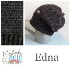 Tunella's Geschenkeallerlei präsentiert: das ist Edna, eine geniale gehäkelte Haube/Mütze aus einer Alpaka/Wolle/Acryl-Mischung - du kannst dich warm anziehen, dank sorgfältigem Entwurf, liebevoller Handarbeit und deinem fantastischen Geschmack wirst du umwerfend aussehen #TunellasGeschenkeallerlei #Häkelei #drumherum #Beanie #Pudelhaube #Haube #Mütze #Alpaka #Wolle #Edna