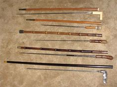 Sword Canes = http://canequest.com Hand Carved Walking Sticks, Walking Sticks And Canes, Cane Sword, Raising Canes, Walking Staff, Country Walk, Cool Swords, Helping Hands, Knives And Tools