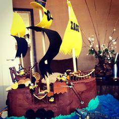 Minion Pirate themed Happy Birthday Cake