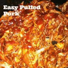 Easy BBQ Pulled Pork (For Sandwiches)