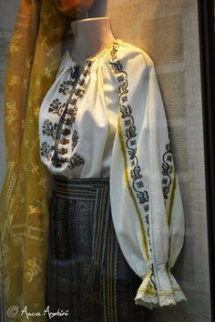 Folk Embroidery, Learn Embroidery, Folk Costume, Costumes, Traditional Outfits, Alter, Bomber Jacket, Daughter, Textiles