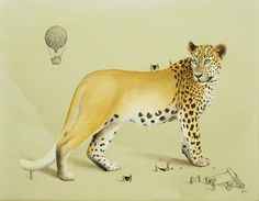 THE ANIMALS CREATION - The illustrations by Mexican artist Ricardo Solis, who imagines the creation of animals with soft and poetic images, mixing paint, pencil and ink, in which small characters are endeavoring to position the stripes of a zebra or the spots of a leopard…