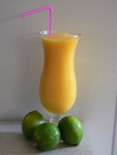 Mango Smoothie      1 cup chopped ripe mango     1/2 cup low-fat milk     1/2 cup ice     1/4 cup plain low-fat yogurt     1 tablespoon honey