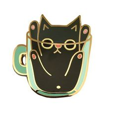 Cup Cat Pin   Sing Ji