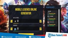Best mobile legends hack/cheat generator working in 2020 Miya Mobile Legends, Episode Choose Your Story, Point Hacks, Legend Games, Play Hacks, Mobile Legend Wallpaper, The Legend Of Heroes, App Hack, News Sites