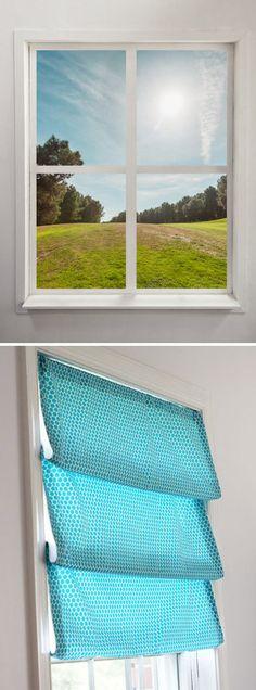 No Sew Window Shade
