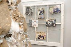 EASY DIY Holiday Photo Card Holder