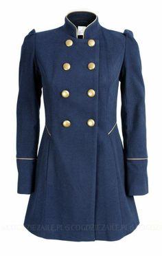 płaszcz w stylu militarnym bufki - Szukaj w Google