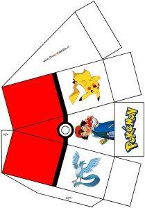 Pokémon go doosje - Print je Traktatie