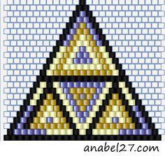 Схемы сережек - кирпичное плетение