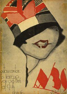 'ABC' nº362, por Jorge Barradas, 23 Junho 1927