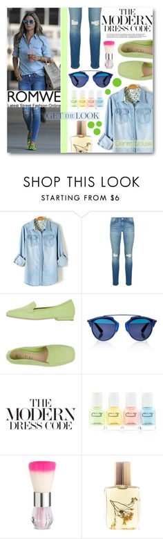 """""""Street Fashion"""" by tasnime-ben ❤ liked on Polyvore featuring 7 For All Mankind, Rebecca Minkoff, Christian Dior, Color Club, H&M, Flidais Parfumerie and romwe"""