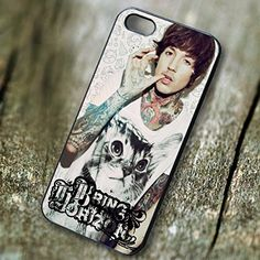 Bring Me the Horizon Oliver Sykes for Iphone 6 and Iphone 6s Case. PRICE WON'T LIE, Our case price is representing the quality, don't compare our case with another low quality case that have a very cheap price.We have the BEST QUALITY HANDMADE CASES with clear image print in affordable price.Easy access to all ports, control sensors easily, and very comfortable to carry. Available Materials are PLASTIC and RUBBER ... Available Colors are BLACK and WHITE. Made and Ship from California, USA...