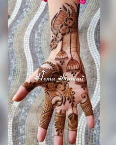 Beautiful & Simple Mehndi Designs for Hand Rose Mehndi Designs, Indian Mehndi Designs, Basic Mehndi Designs, Stylish Mehndi Designs, Mehndi Designs 2018, Henna Art Designs, Mehndi Designs For Girls, Mehndi Designs For Beginners, Wedding Mehndi Designs
