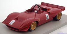 Ferrari Dino 212E, Winner Rossfeld 1969, No.1, Schetty. Tecnomodel, 1/18, No.TM18-37B, Limited Edition 105 pcs. 220 EUR