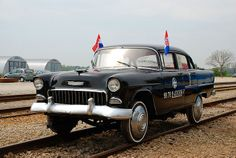 1955 Chevrolet track inspection car