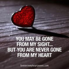Quotes - Forever In My Heart - Touching Poems Quotes