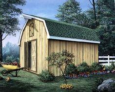Barn Storage Shed With Loft   Project Plan 85901 | Three Popular Sizes   12u0027