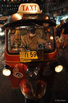 Bangkok cab. Bangkok Travel Guide, Thailand, Civilization, City, Pictures, Instagram, Asia, Good To Know, Vehicles