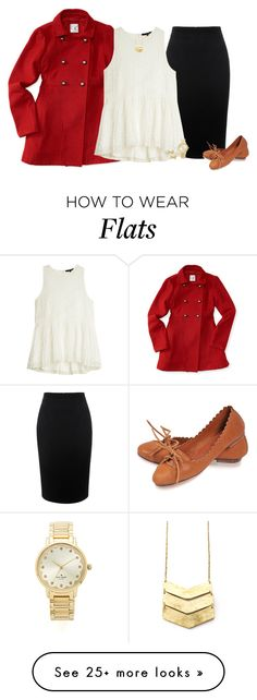"""""""Snowy Day"""" by kc-cupcake-lover on Polyvore featuring Aéropostale, Alexander McQueen, TIBI and Kate Spade"""