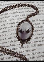 "Cabochon Kette ""Inner Prison"", Medallion, Amulett, Gothic, Vintage, Victorian, blogger, hipster"