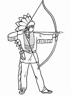 free printable coloring pages for adults | Native American Indian ...
