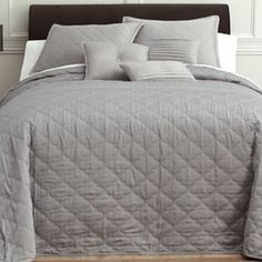 Royal Velvet® Ogee Bedspread & Accessories - JCPenney 50% off