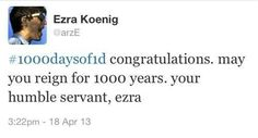 One Direction is his favorite band | Vampire Weekend's Ezra Koenig Is Better At Twitter Than You