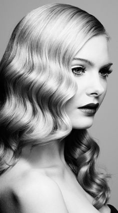 Glam Retro Hairstyle Ideas | Hairstyles 2016 New Haircuts and Hair Colors from special-hairstyles.com